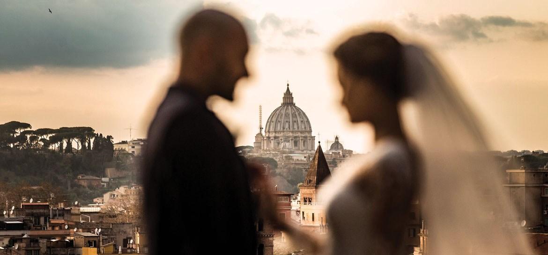 Fotografo e Video Reportage Matrimonio Roma