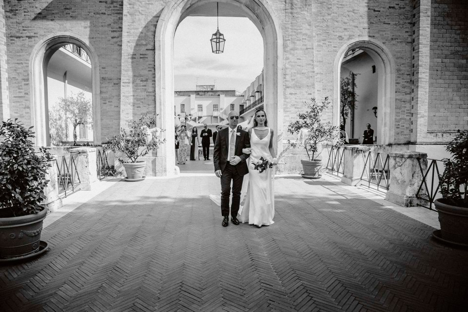 Wedding at Villa Miani