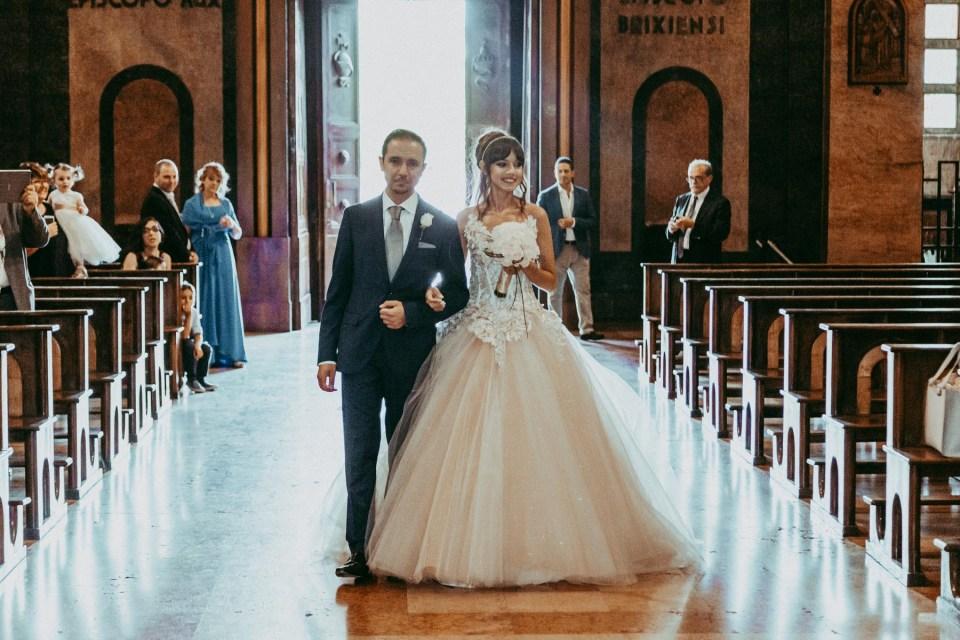 Ingresso Sposa, Matrimonio lago d'Iseo