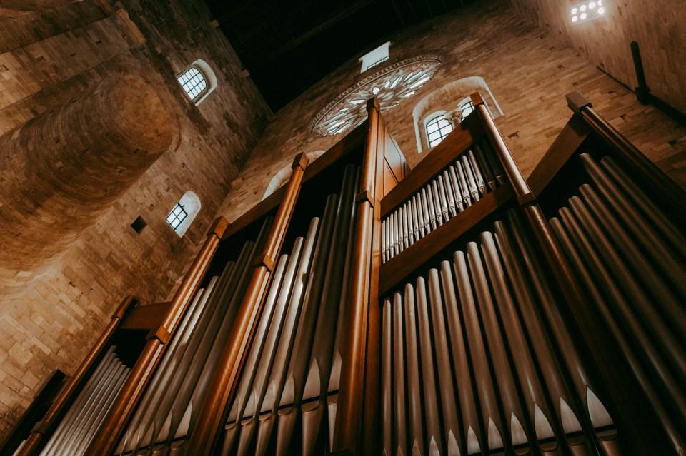L'organo della Cattedrale di Trani