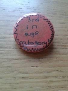 3rd in Age Category badge