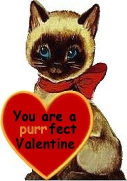 Vintage Siamese Valentines From BlackampTan Siamese