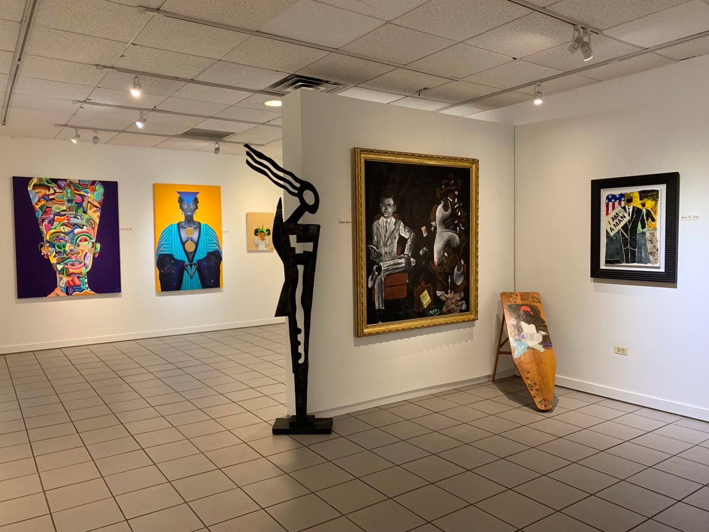 Inaugural Black Fine Art Month continues with a celebration of the legacy of Dr. Margaret Burroughs