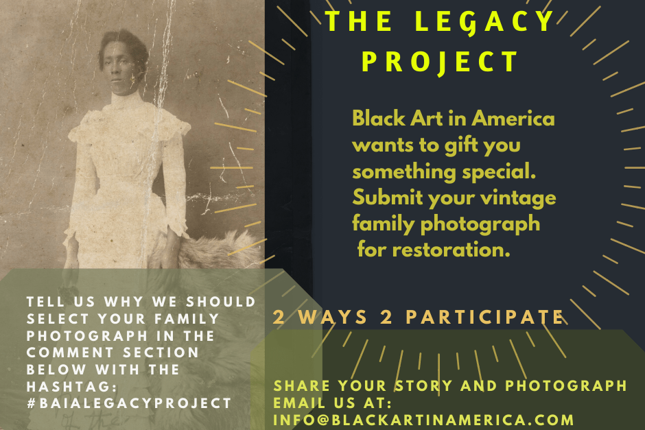 Black Art In America Legacy Project