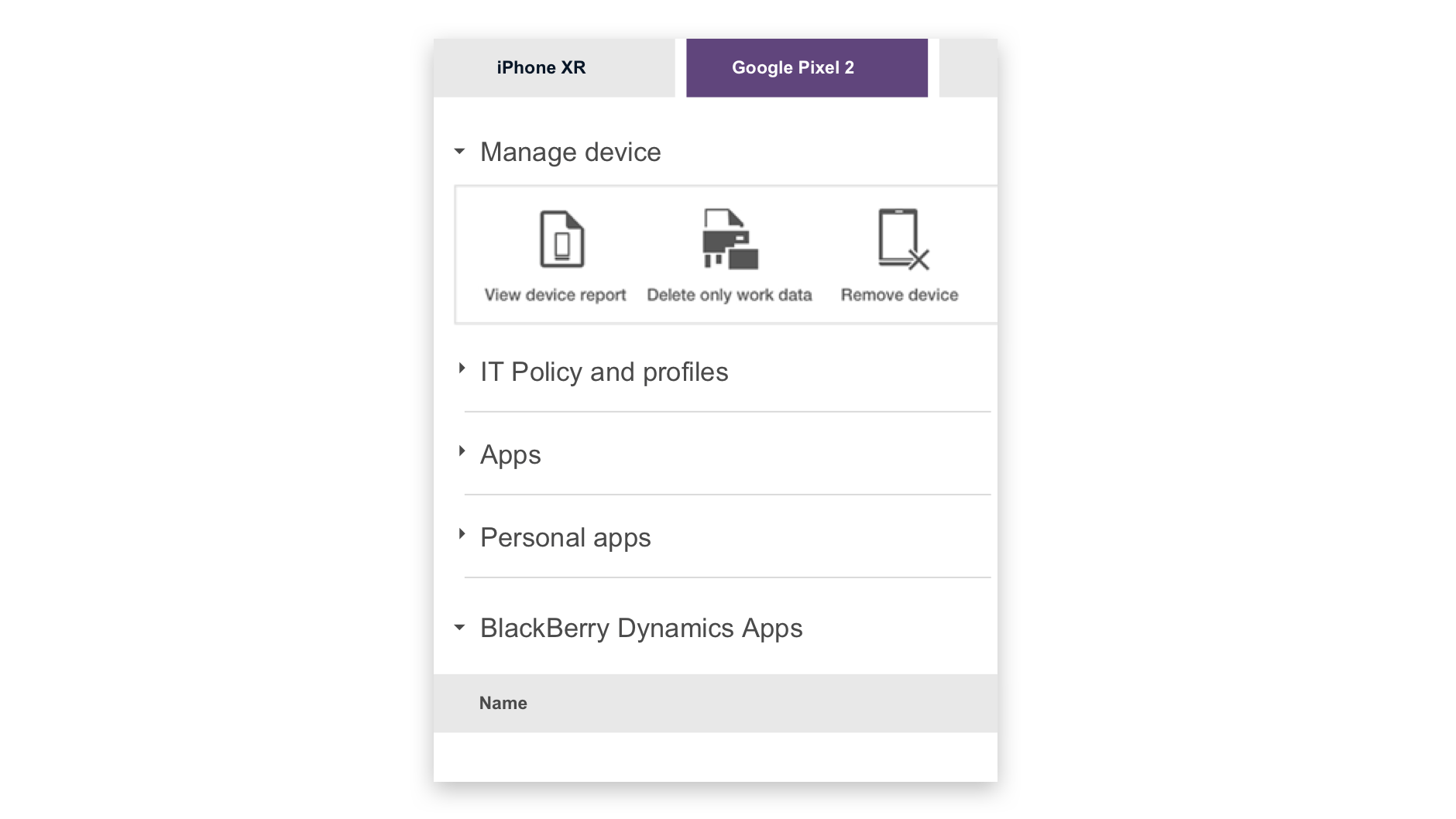 BlackBerry Spark UEM Suites