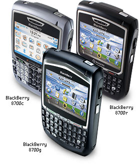 Blackberry handheld Range
