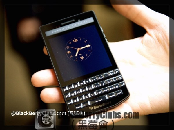 Porsche design Blackberry launch