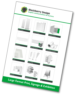 Blackberry Design large format catalogue