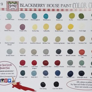 Color Chart, Hand Painted, All Colors