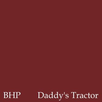 daddys tractor