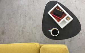 Table en béton AXEL BLACKBETON