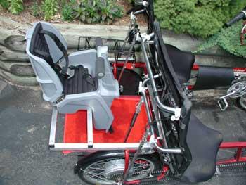 Bicycle Kids Child Baby Rear Seat Bike Carrier - Yamsixteen