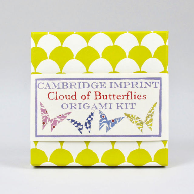 cloud of butterflies origami