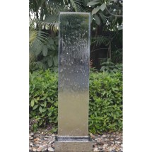Stainless Steel Fountain Water Feature - 200cm High