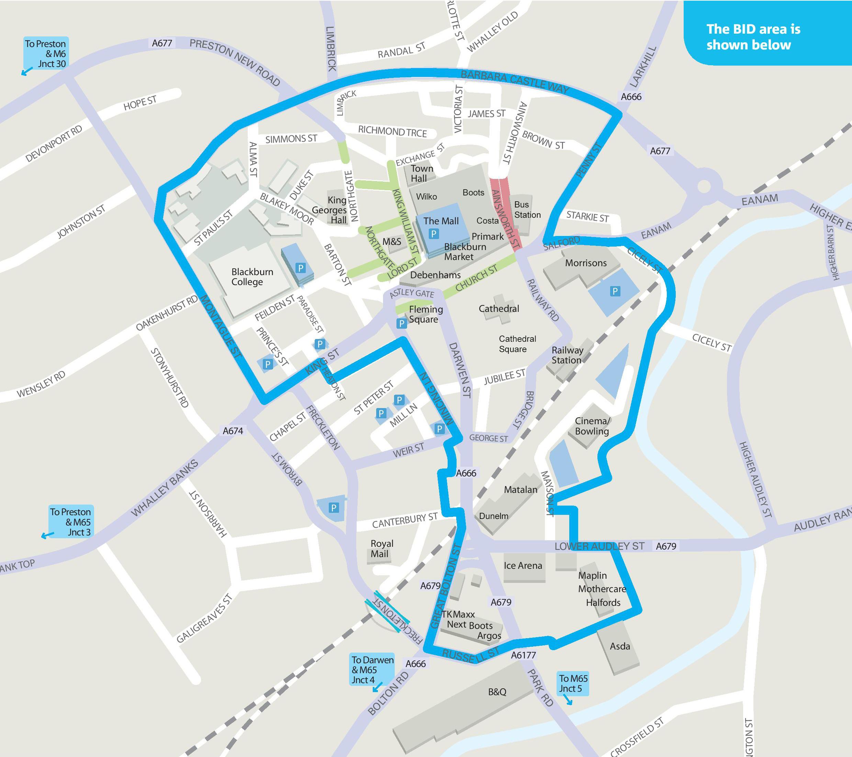 Blackburn Business Improvement District Bid