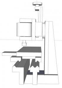 South Bend lathe milling attachment