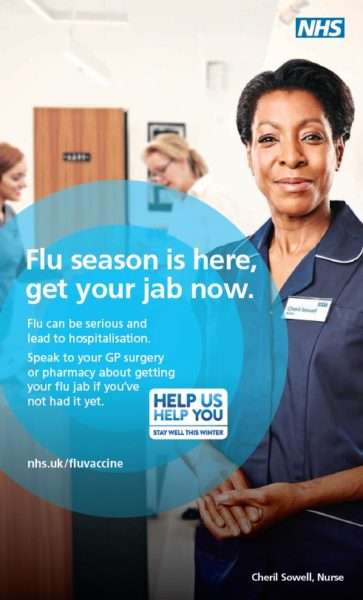 Public urged to act fast to avoid festive flu - NHS Blackburn with ...