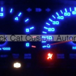 1997 Dodge Dakota Tach Wiring Diagram Carrier Infinity Furnace Black Cat Custom Automotive Gauge Faces Led 2004 Kit 45 00 Usd