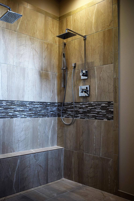 BLACK CAT design build llc  Project  Modern Luxury Shower