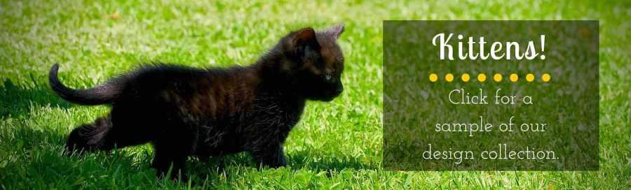 Black Kittens Banner