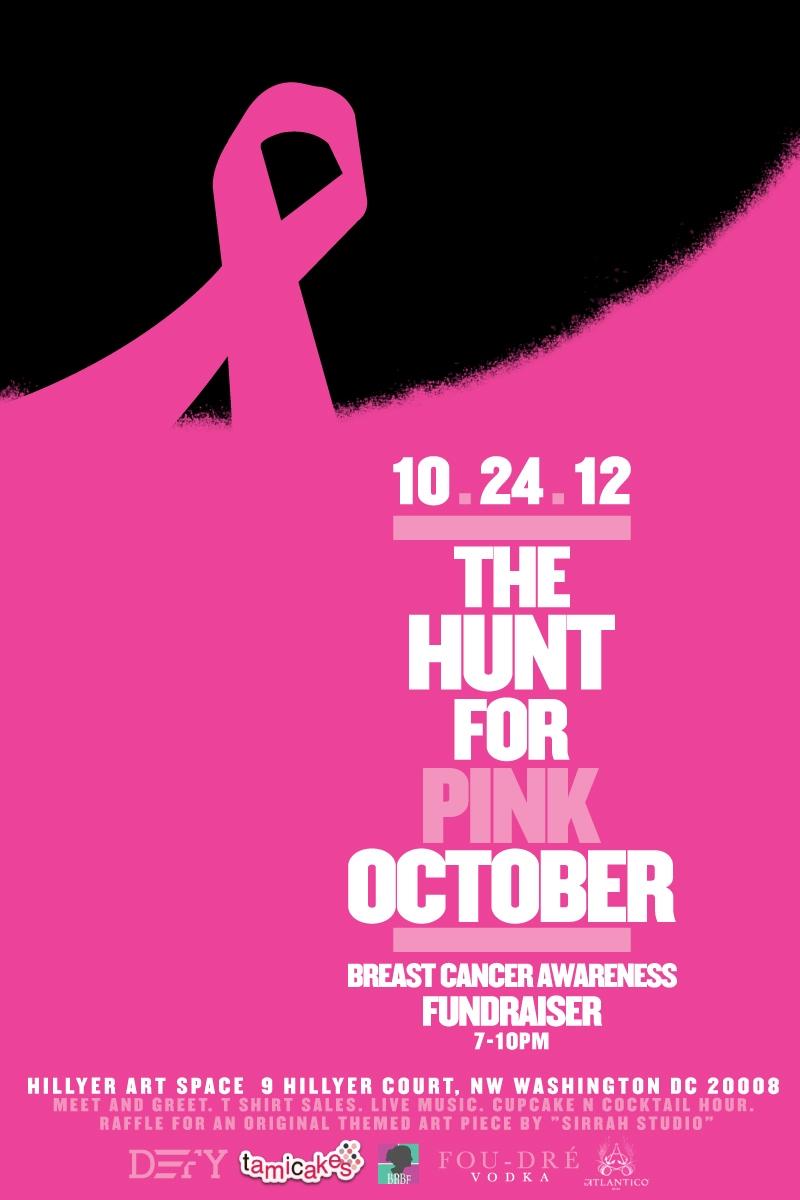 Event The Hunt for PINK October October 24th  Washington DC  Black Celebrity Giving