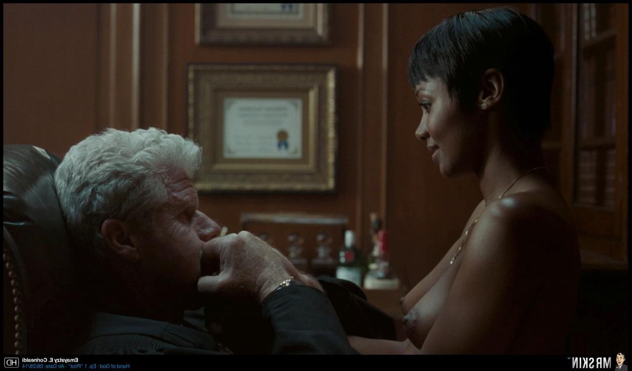 Emayatzy E Corinealdi In Hand Of God Nude Scene  Black