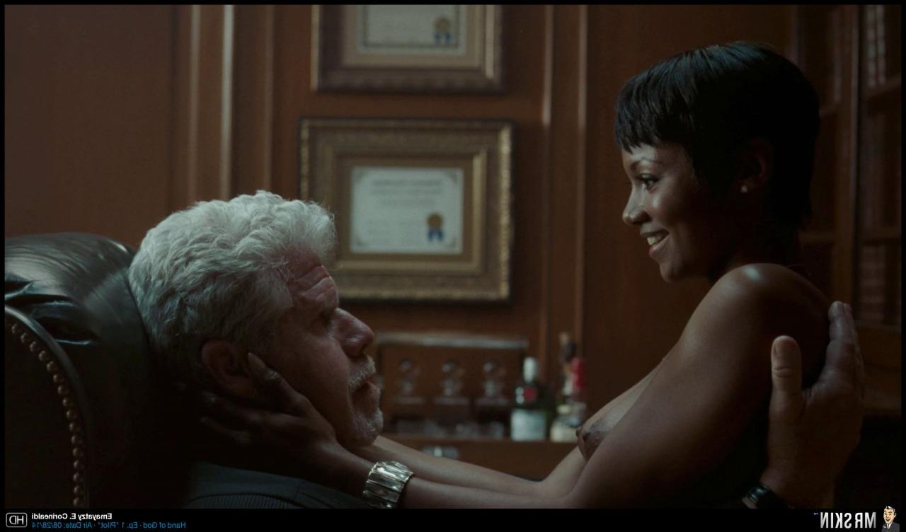 Emayatzy E Corinealdi In Hand Of God Nude Scene  Black