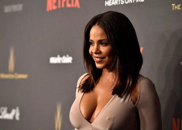 Sanaa Lathan Weinstein Netflix Crazy Cleavage