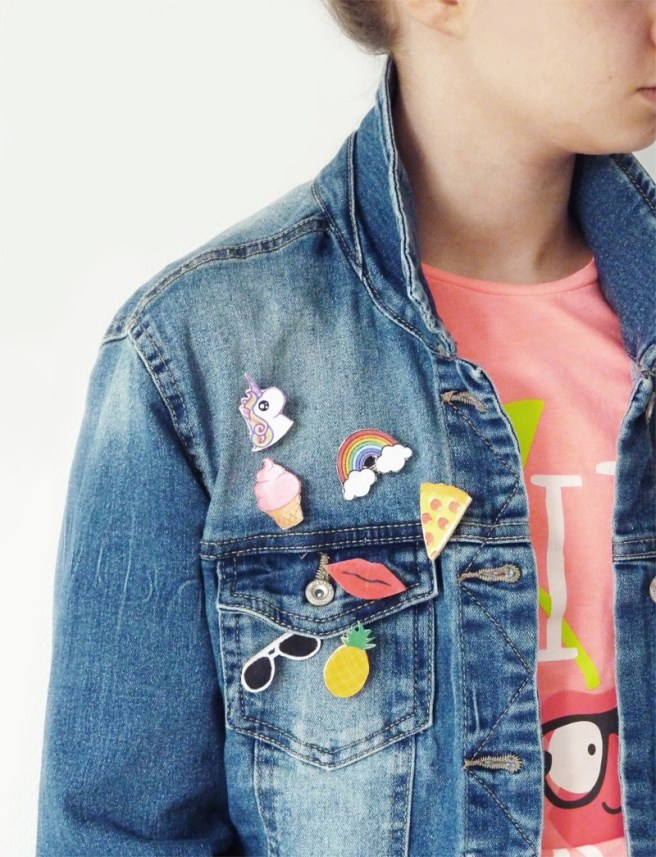 diy patch customiser veste en jean