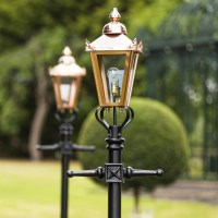 Victorian Lamp Post - Copper 2.3m | Black Country Metal Works