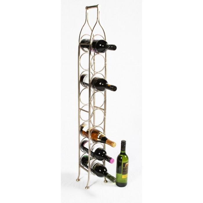 monticello space saving wine rack