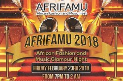 2018 African Fashion and Music Festival (AFRIFAMU)