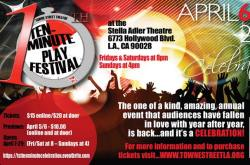 Towne Street Theatre's 10th Annual Ten Minute Play Festival