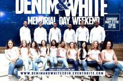 Denim and White Memorial Day Weekend Affair