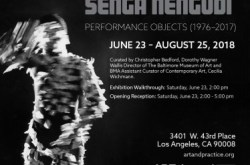 Head Back and High: Senga Nengudi, Performance Objects (1976-2017) Opening Reception
