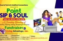 Paint, Sip & Soul