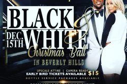 The Black & White Xmas Ball