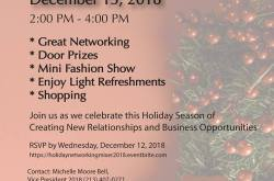 Black Women's Network Holiday Networking Mixer & Mini Fashion Show