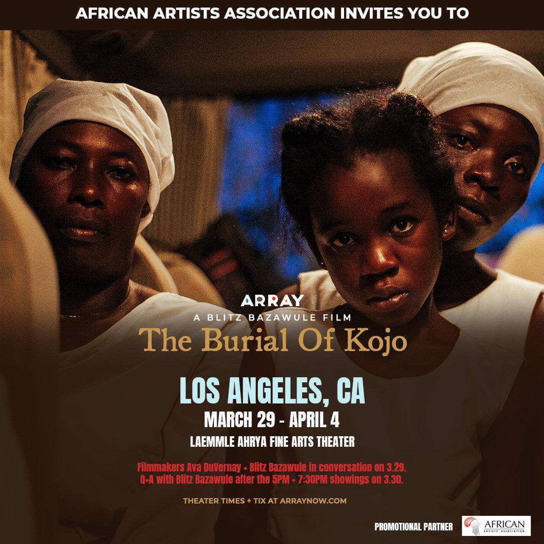 The Burial of Kojo: Film Screenings | Black Cultural Events