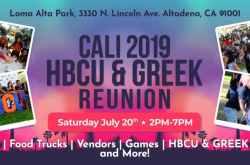 The 7th Annual Cali HBCU & Greek Reunion
