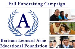 Bertram L. Ashe Educational Foundation Fall Fundraising Campaign