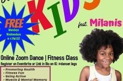 Dancer Legs-KIDS fitness featuring Milanis