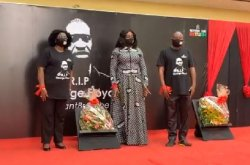 Come To Ghana If You're Not Wanted In USA – Tourism Minister To African Americans As They Lay Wreath For George Floyd
