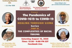 Healing Through Ujima Series: The Complexities of Racial Trauma