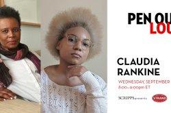 PEN Out Loud: Claudia Rankine with Lauren Michele Jackson