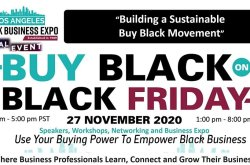 Buy Black On Black Friday: Los Angeles Virtual Black Business Expo