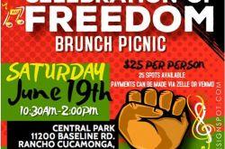 Juneteenth Celebration of Freedom Brunch Picnic