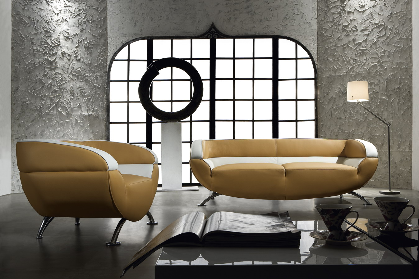 modern retro sofa and loveseat big lots simmons leather miss 60 3 piece set black design co