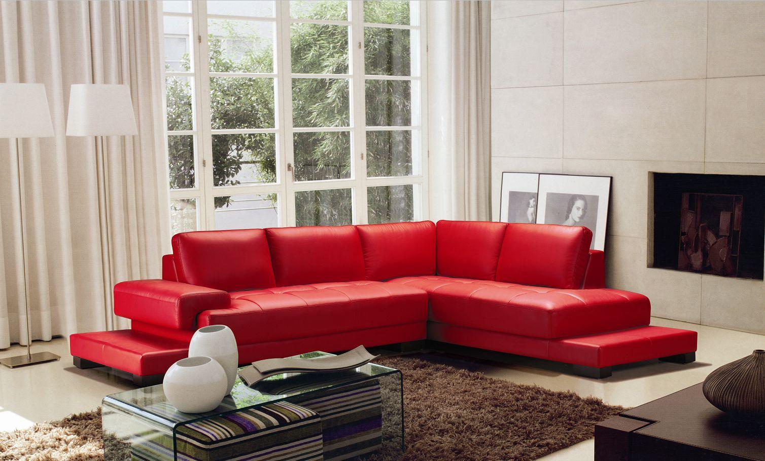 Farah prochaska, interior stylist where: 2226 Red Sofa Set   Black Design Co