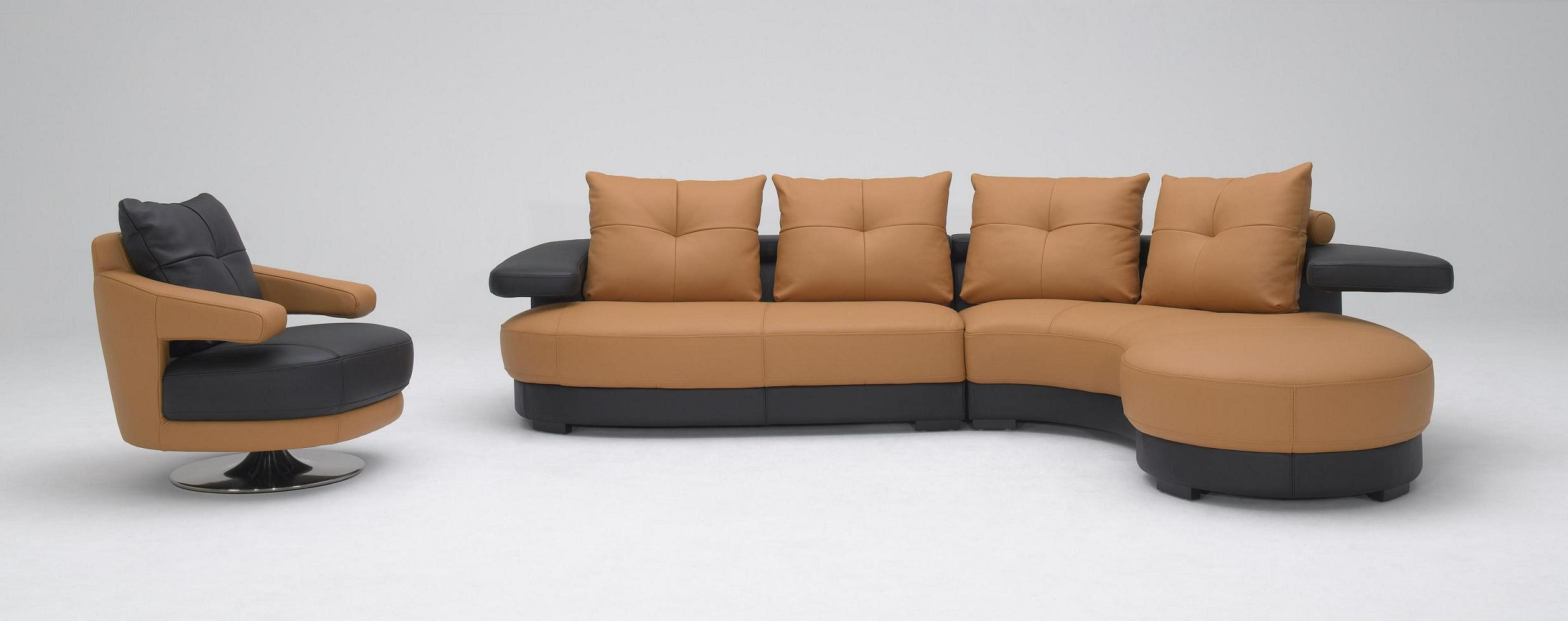 t57b ultra modern leather sectional sofa sofas definition kk899 black and white